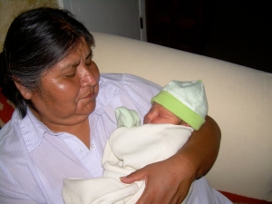 Evie and her Grandma